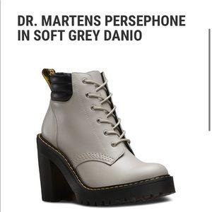 DR. MARTENS PERSEPHONE IN SOFT GREY DANIO